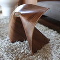 OSIDEA USA Fortune Cookie Stool; Walnut