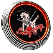 On The Edge Marketing Betty Boop 14.75'' Neon Wall Clock