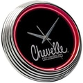 On The Edge Marketing Chevrolet 14.75'' Chevelle Neon Wall Clock