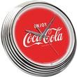 On The Edge Marketing 15'' Coca Cola Neon Wall Clock