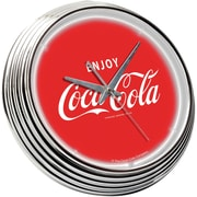 On The Edge Marketing 15'' Coca Cola Neon Wall Clock