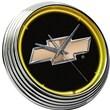 On The Edge Marketing Chevrolet 14.75'' Bowtie Neon Wall Clock