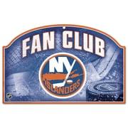 Wincraft New York Islanders Fan Club Graphic Art Plaque