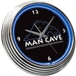 On The Edge Marketing 15'' Man Cave Neon Wall Clock