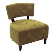 Office Star Ave Six Boulevard Chair; Green