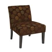 Office Star Ave Six Laguna Chair; Chocolate