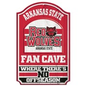 Wincraft NCAA Graphic Art Plaque; Arkansas State U