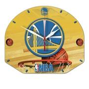 Wincraft NBA Plaque Wall Clock; Golden State Warriors