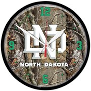 Wincraft NCAA 12.75'' Camouflage Wall Clock; North Dakota University