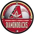 Wincraft MLB 12.75'' Wall Clock; Arizona Diamondbacks