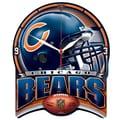 Wincraft NFL High Def Plaque Wall Clock; Chicago Bears