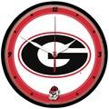 Wincraft NCAA 12.75'' Wall Clock; Georgia University