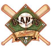 Wincraft MLB High Def Plaque Wall Clock; San Francisco Giants