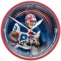 Wincraft NFL 12.75'' Wall Clock; Buffalo Bills and Lee Evans