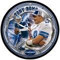 Wincraft NFL 12.75'' Wall Clock; Dallas Cowboys - Tony Romo
