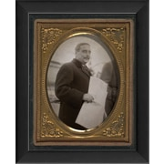 The Artwork Factory Tintype Photographs H.G. Wells Framed Photographic Print
