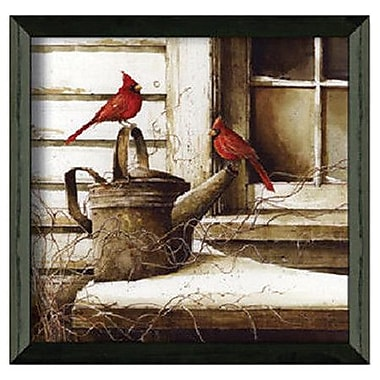 Timeless Frames WaitIng on SprIng by John Rossin Framed Painting Print