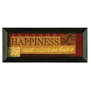 Timeless Frames Happiness by Becca Barton Framed Graphic Art