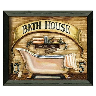 Timeless Frames Bath House by Becca Barton Framed Graphic Art