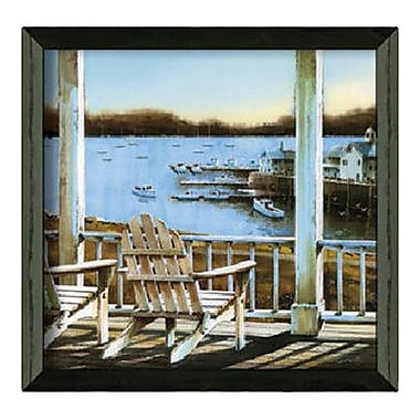 Timeless Frames Harbor View by John Rossini Framed Photographic Print