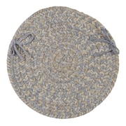 Colonial Mills Tremont Dining Chair Cushion (Set of 4); Gray