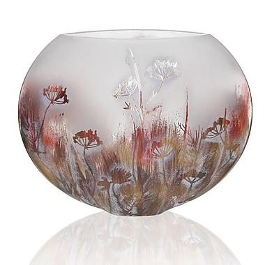 Womar Glass Springtime Series Vase