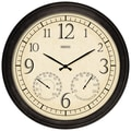 Taylor Springfield Precision Instruments 19.25'' Wall Clock