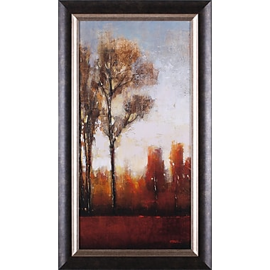 Art Effects Tall Trees II by Tim O'Toole Framed Painting Print