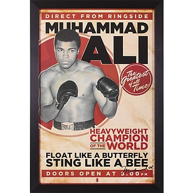 Art Effects Ali Framed Vintage Advertisement