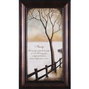 Art Effects Family by Kendra Baird Framed Painting Print