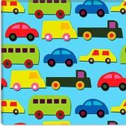 iCanvas ''Traffic (Cars)'' Canvas Wall Art by Daniela Bruni; 37'' H x 37'' W x 0.75'' D