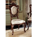 Design Toscano Toulon French Rococo Fabric Side Chair