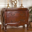 Design Toscano Jean Henri Bombe Commode 2 Drawer Chest