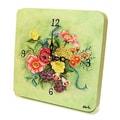 Lexington Studios Home and Garden Bouquet Tiny Times Clock
