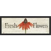 The Artwork Factory Fresh Flowers Framed Graphic Art