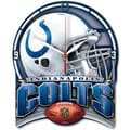 Wincraft NFL High Def Plaque Wall Clock; Indianapolis Colts
