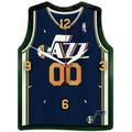 Wincraft NBA Plaque Wall Clock; Utah Jazz