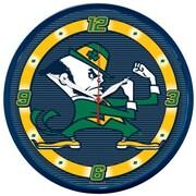 Wincraft Collegiate 12.75'' NCAA Wall Clock; Notre Dame