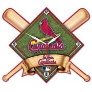 Wincraft MLB High Def Plaque Wall Clock; St. Louis Cardinals