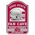 Wincraft Collegiate NCAA Graphic Art Plaque; Ohio State