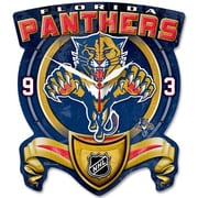 Wincraft NHL High Def Plaque Wall Clock; Florida Panthers