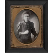 The Artwork Factory Tintype Photographs Marie Curie Framed Photographic Print