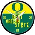 Wincraft Collegiate 12.75'' NCAA Wall Clock; Oregon Beat Oregon State
