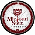Wincraft Collegiate 12.75'' NCAA Wall Clock; Missouri State