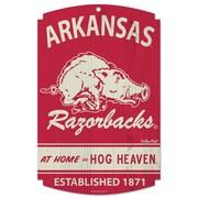 Wincraft NCAA Graphic Art Plaque; Arkansas / College Vault