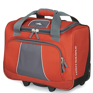 High Sierra Elevate Wheeled Business Boarding Tote; Lava