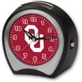 Cottage Garden Collegiate Alarm Table Clock; University of Oklahoma