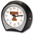 Cottage Garden Collegiate Alarm Table Clock; University of Texas