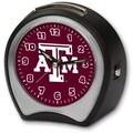 Cottage Garden Collegiate Alarm Table Clock; Texas A&M University