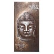 Woodland Imports Buddha Graphic Art on Canvas